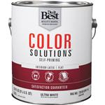 Color Solutions Self-Priming Latex Flat Interior Wall Paint