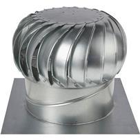"Ventamatic 14"" Standard Internally Braced Galvanized Wind Turbine"