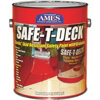 Ames Safe-T-Deck Elastomeric Waterproofing Sealer Deck Paint