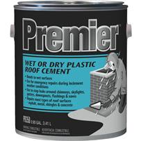 Premier 350 Wet or Dry Plastic Roof Cement