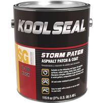Kool Seal Storm Patch UV-Resistant Black Patch & Coat