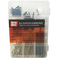 Grip-Rite Assorted 170-Piece Alll-Purpose Interior Screw Multipack