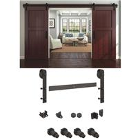 National Rustic Barn Door Hardware Kit