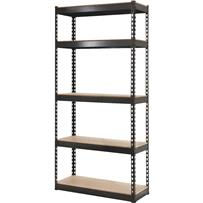 L-Beam 5-Tier Steel Shelving
