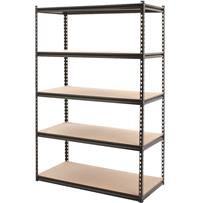 Z-Beam 5-Tier Steel Shelving