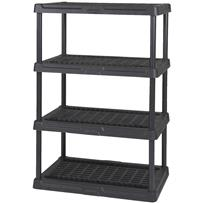 Contico 4-Tier Ventilated Plastic Shelving