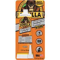 Gorilla Heavy-Duty All Surface Construction Adhesive