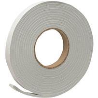 Do it PVC Closed Cell Vinyl Foam Weatherstrip Self-Adhesive Tape