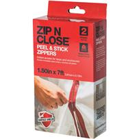 Surface Shields Zip N Close Peel and Stick Wall Zipper