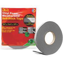 Do it Best Heavy Density PVC Closed Cell Vinyl Foam Weatherstrip Tape