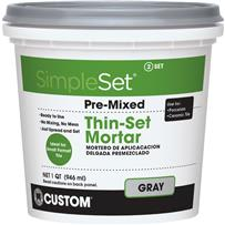 Custom Building Products SimpleSet Pre-Mixed Thin-Set Mortar
