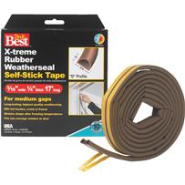 Do it Best EPDM Rubber Weatherstrip Tape