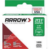 Arrow JT21 Light Duty Staple