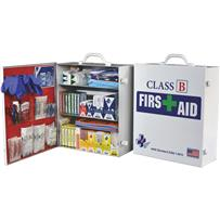 Certified Safety Class B ANSI & OSHA Certified Cabinet First Aid Kit