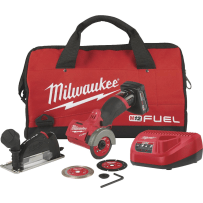 MILWAUKEE 2522-21XC M12 FUEL 3 INCH COMPACT CUT OFF TOOL KIT