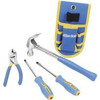 Essentials 4-Piece Homeowner's Tool Set