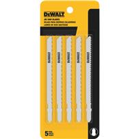 DeWalt T-Shank Wood Cutting Cobalt Jig Saw Blade