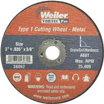 Weiler Vortec Type 1 Abrasive Cut-Off Wheel