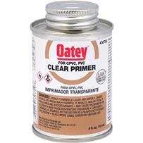Clear Primer PVC Cement