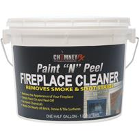 "Chimney RX Paint ""N"" Peel Fireplace Masonry Cleaner"