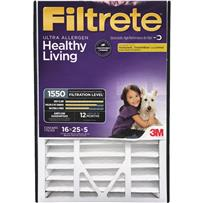 3M Filtrete Ultra Allergen Healthy Living Deep Pleat Furnace Filter