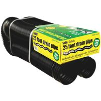 Amerimax 4 In. Expandable Solid Drain Pipe