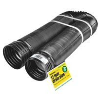 Amerimax FLEX-Drain 4 In. Expandable Perforated Drain Pipe