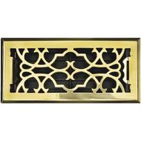 Accord Victorian Brass Floor Register