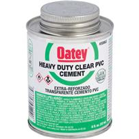 Heavy-Duty Clear PVC Cement
