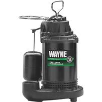 Wayne Water System Cast-Iron Submersible Sump Pump