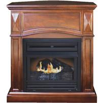 KozyWorld The Belmont Vent-Free Gas Fireplace