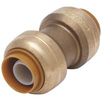 SharkBite Push-to-Connect Brass Coupling