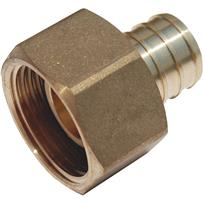 SharkBite Brass Straight Swivel Adapter