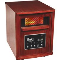 Best Comfort Quartz Heater with Woodgrain Cabinet