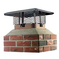 Adjustable Single Flue Chimney Cap for Large Flue