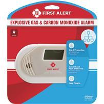 First Alert Carbon Monoxide Alarm & Gas Detector