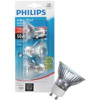 Philips GU10 Base MR16 Halogen Floodlight Light Bulb