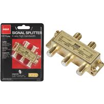 RCA Digital Plus 4-Way Coaxial Splitter