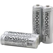 Moonrays Solar Replacement Battery (4-Pack)