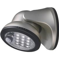 Light It 12-LED Battery Operated Porch Light Fixture