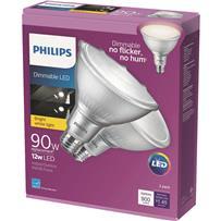 Philips PAR38 Medium Dimmable LED Floodlight Light Bulb