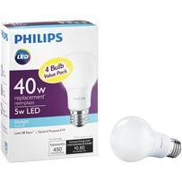 Philips A19 Medium LED Light Bulb