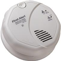 First Alert Hardwired Carbon Monoxide/Smoke Alarm With Voice Alert