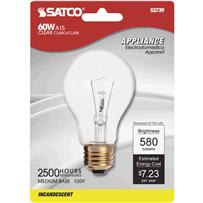 Satco A15 Incandescent Appliance Light Bulb