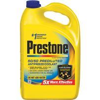 Prestone Automotive Antifreeze/Coolant 50/50 Pre-Diluted