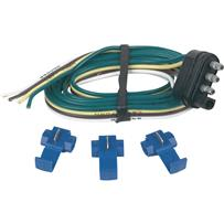 4 Flat Replacement Trailer Side Connector