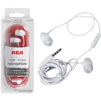 RCA Microphone Earbuds