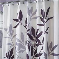 InterDesign Graphic Fabric Shower Curtain