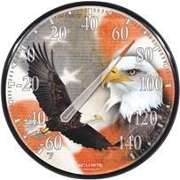 AcuRite Eagle/Flag Indoor And Outdoor Thermometer