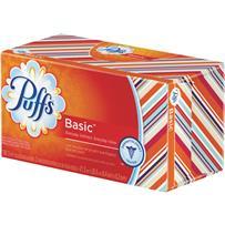 Puffs 180 Count Puffs Basic Facial Tissue